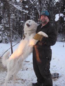 Glacier and his buddy Darrel.